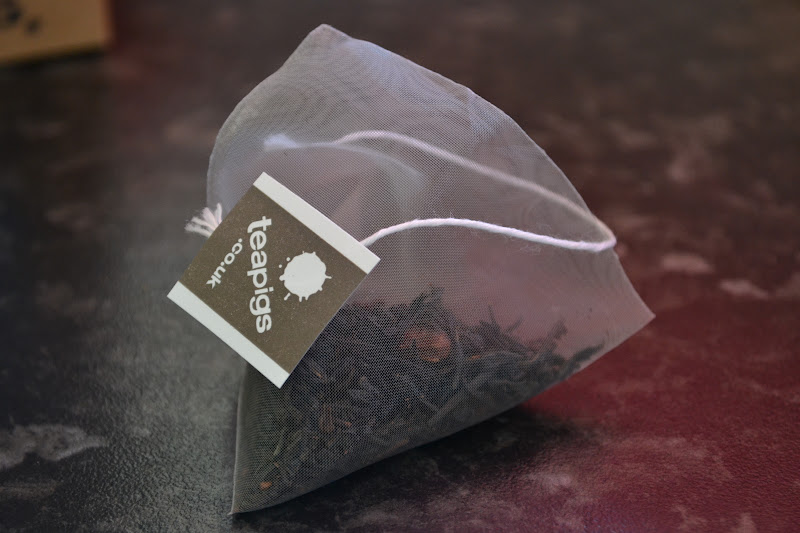 tea pigs chocolate flavoured tea bag